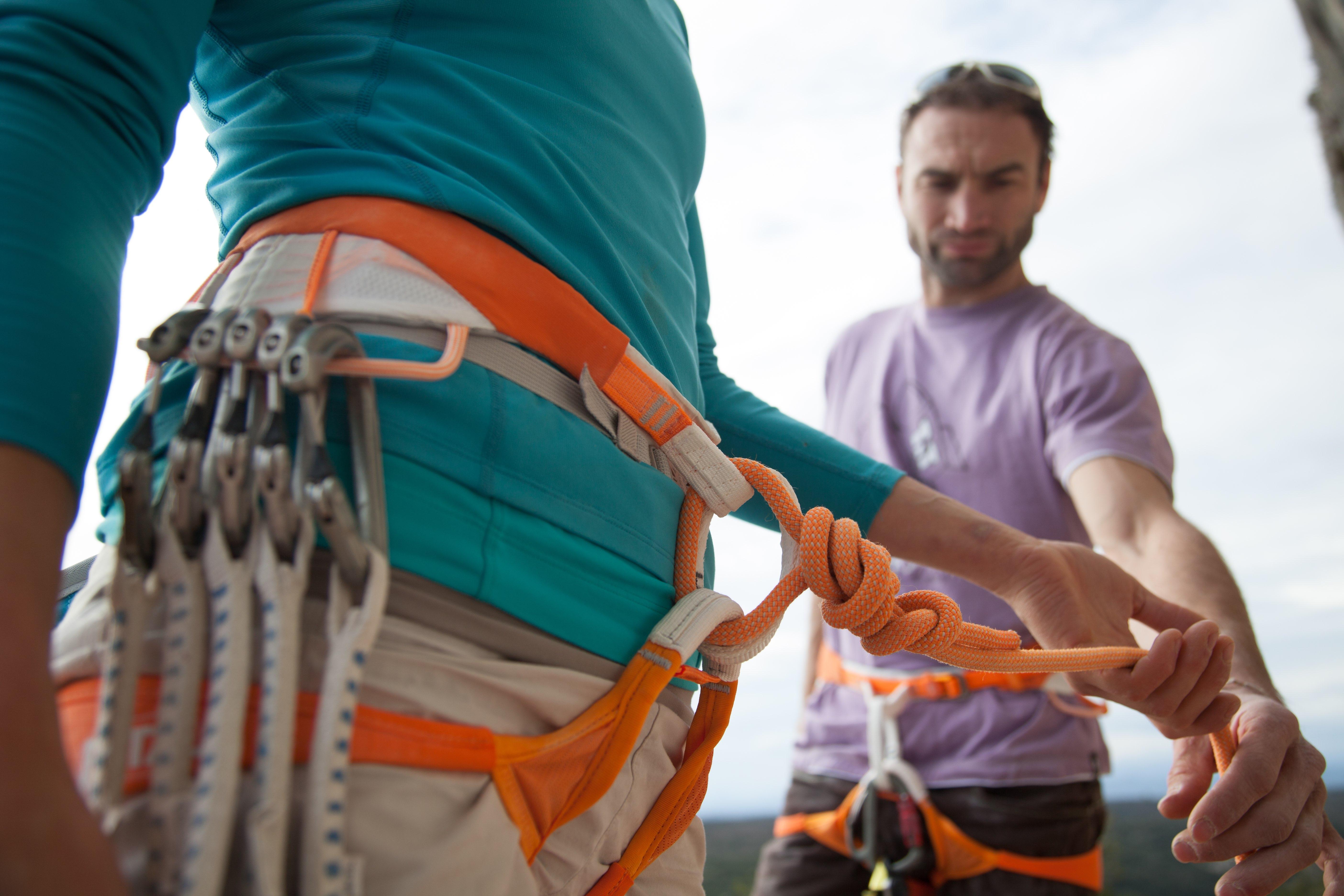 Kletterausrüstung Set Einsteiger : So wird klettern noch sicherer