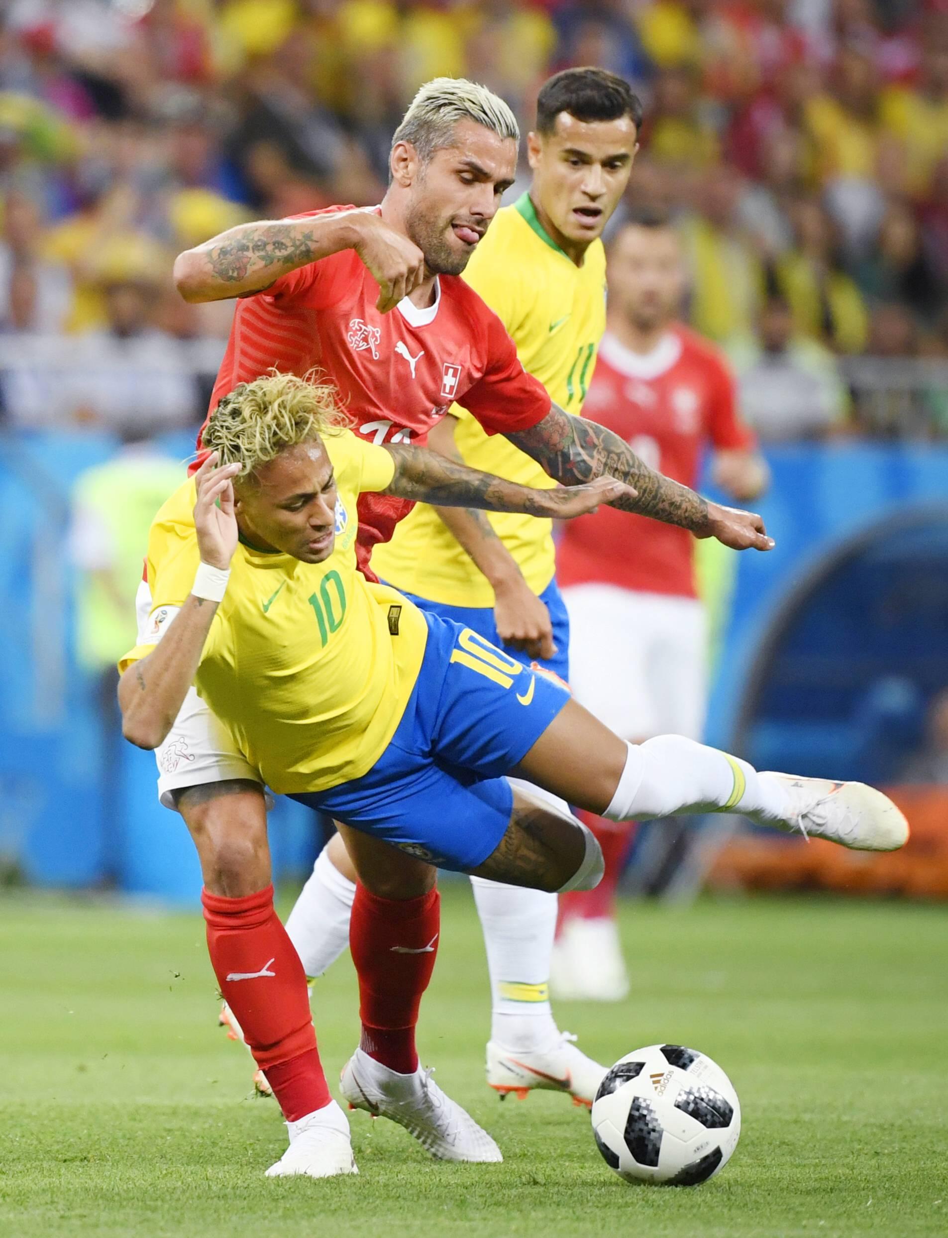 Fussball Wm 2018 Neymar Soll Brasilien Zum Titel Zaubern