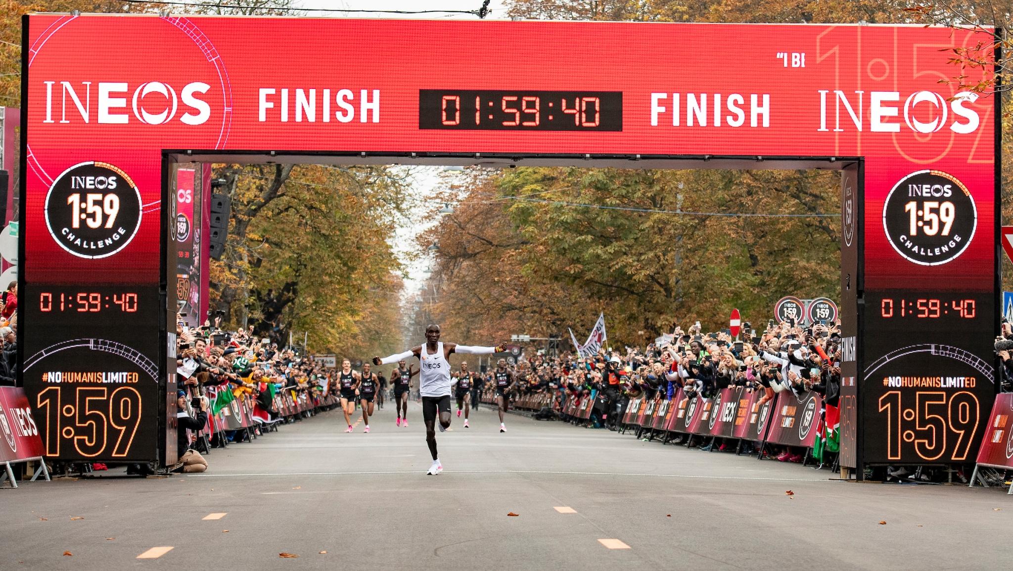 einen laufen Wie Stunden unter will Kipchoge Marathon Eliud zwei 3c4Aqj5RLS