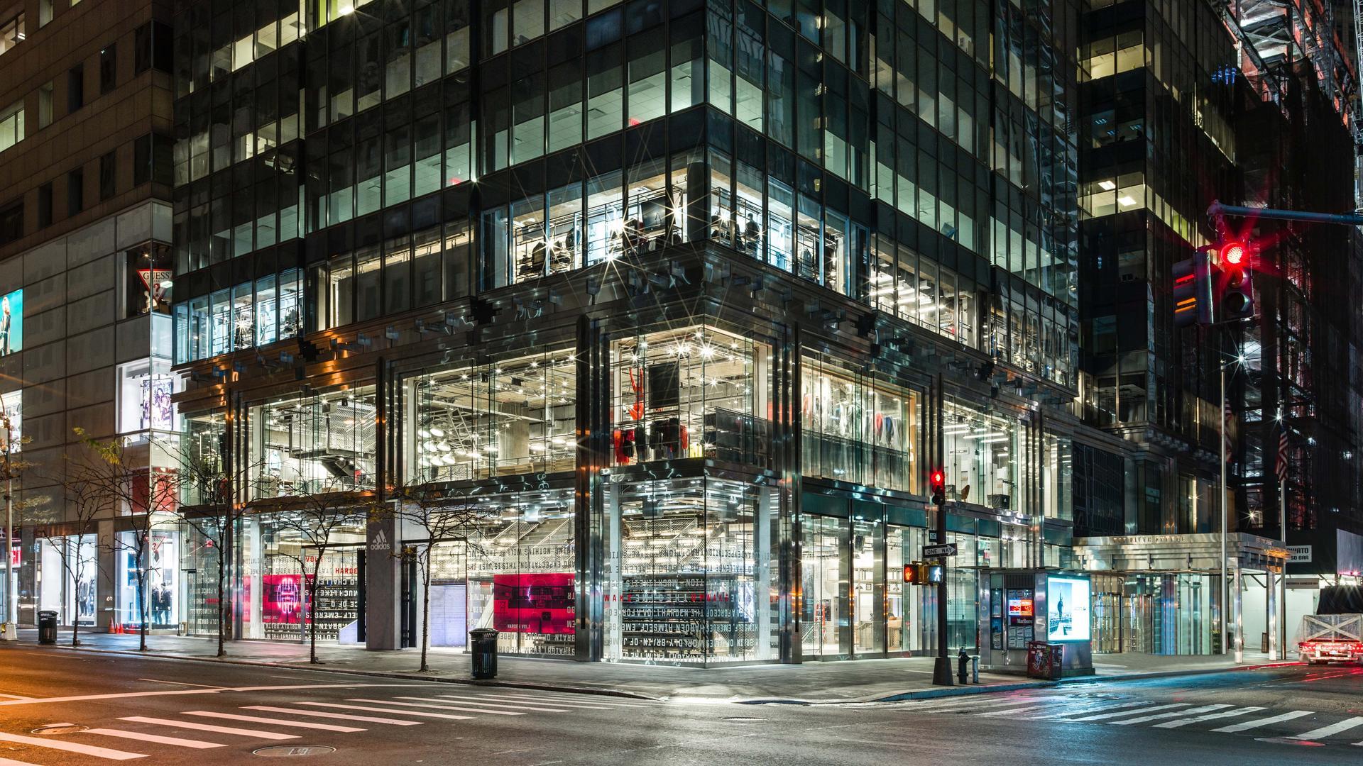 Adidas in NYC: Die Strategie hinterm größten Flagship-Store der Welt