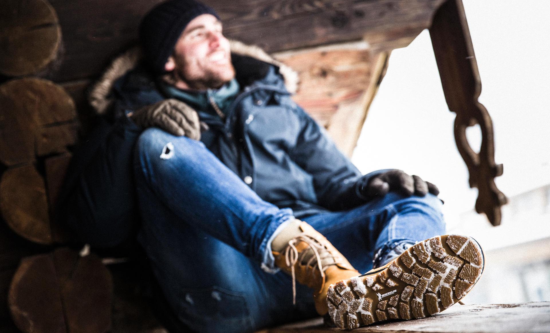 Winterreifen an den Füßen: Hanwag-Schuhe haben richtig Grip