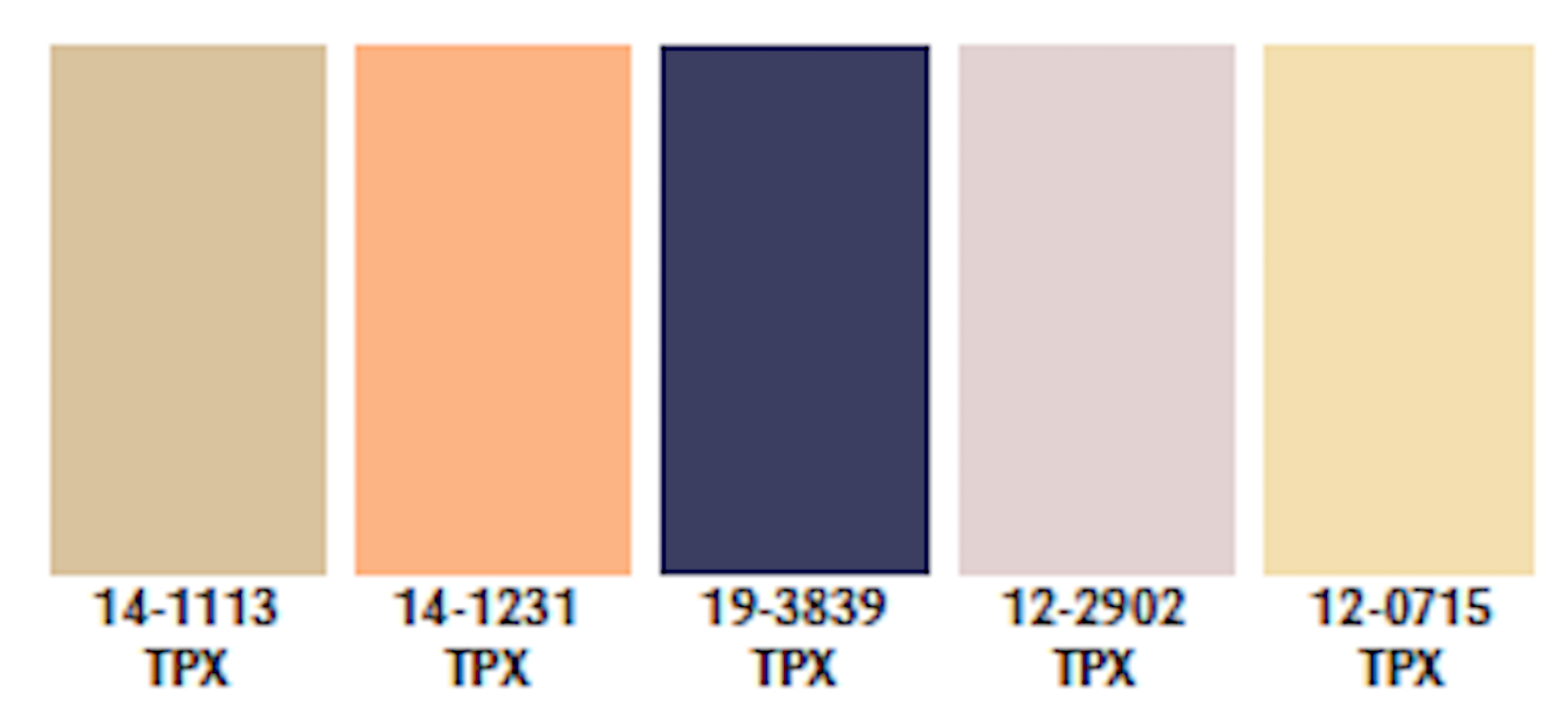 Colors Traditionalist Palette Spring/Summer 2021
