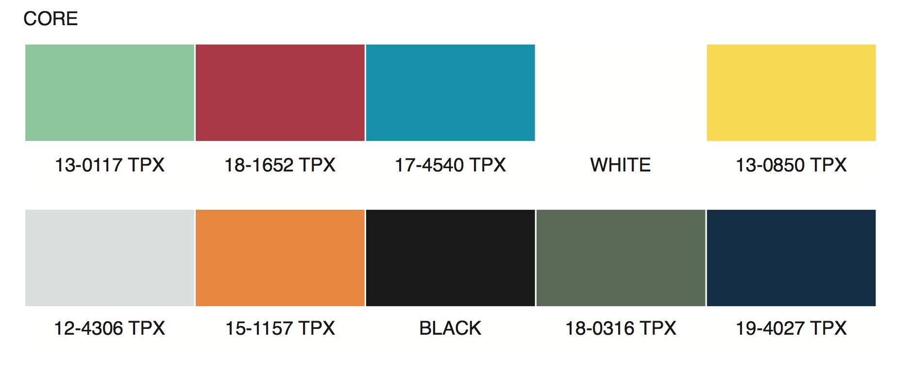 Fall Color Palette 2020.Color Palette Spring Summer 2020