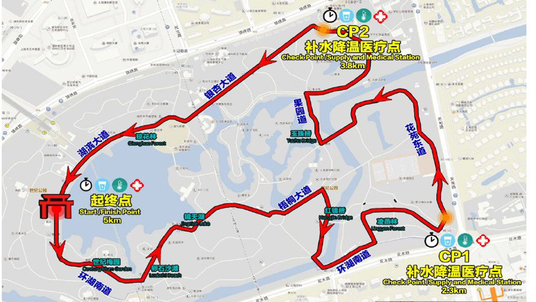 Running course 2017