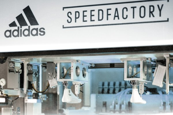 The Adidas Speedfactory in Ansbach.