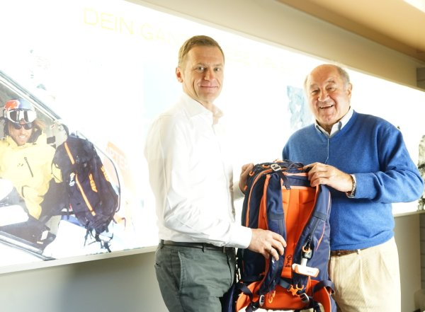 ABS avalanche airbags: Stefan Mohr takes over from Peter Aschauer.