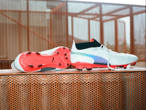 Puma is also successful with football shoes