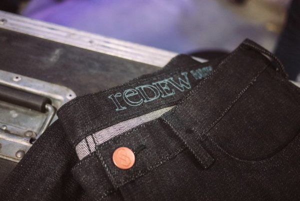 Recycled copper jeans button from Metalbottoni for redEW8