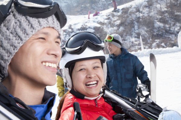 Winter sports are a growing market in China.