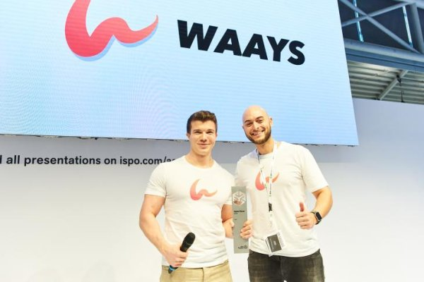Winner at ISPO Brandnew: The guys from Waays.