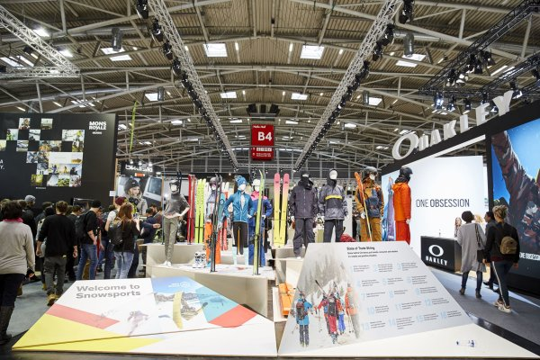 ISPO Munich: The expanded hall concept was well-received.