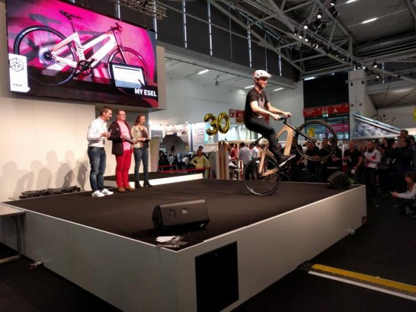 "At ISPO Brandnew 2018, the start-up My Esel was awarded the ""Overall Winner"" prize for customized, sustainably produced bicycles."