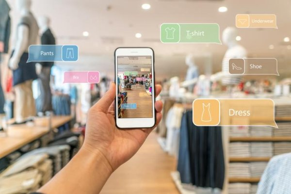 Augmented reality will also play a role in the retail sector in the future.