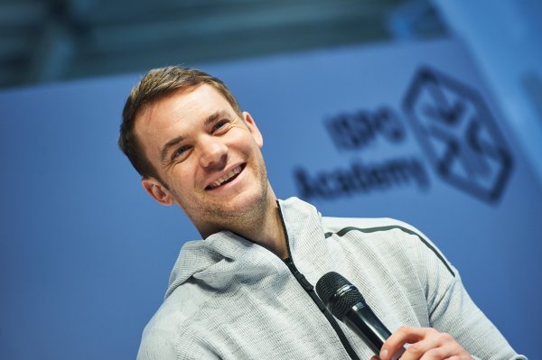 Manuel Neuer at ISPO Munich 2018