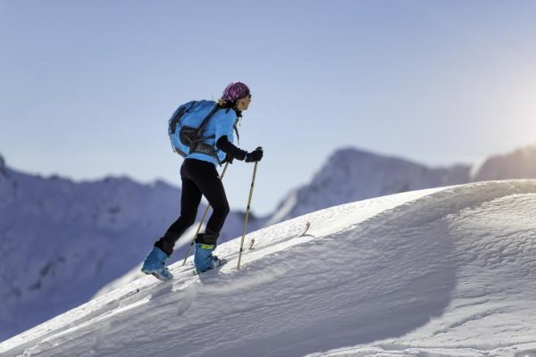 Ski mountaineers want lightness and functionality in their equipment