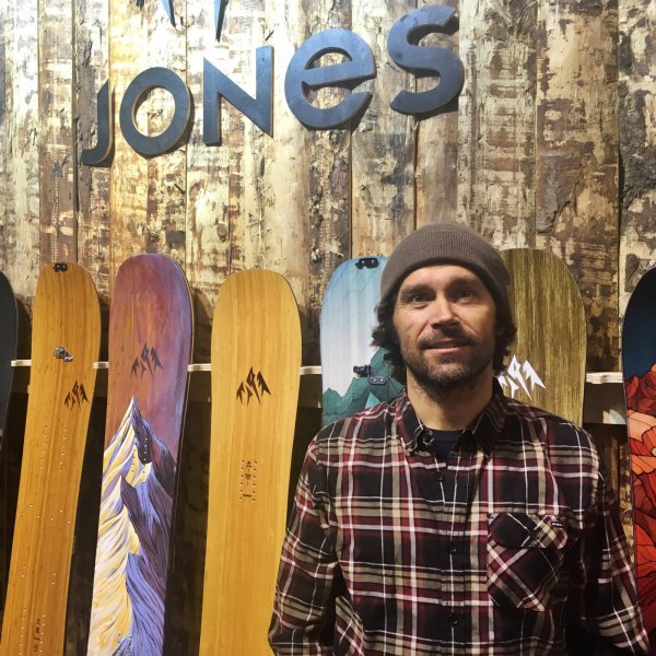 Jeremy Jones auf der ISPO Munich 2018