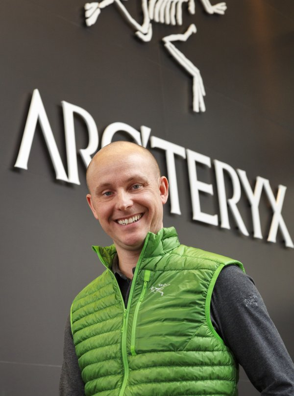 Jon Hoerauf is General Manager of Arc'teryx