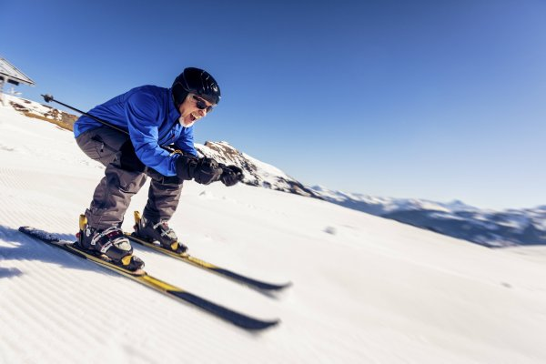 According to the study 65Plus, winter sports are popular into old age.