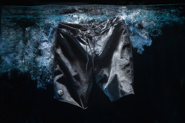 The O'Neill and ISKO denim boardshort bridges the gap between land and the sea.