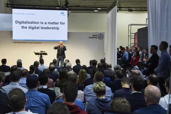 The ISPO Digitize Area was a crowd puller at the ISPO Munich 2018.