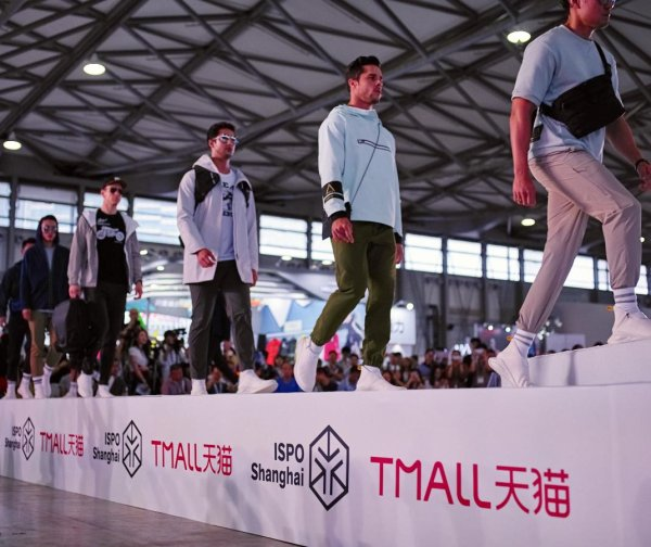 ISPO and Tmall Fashion Show with the latest trends for sportswear