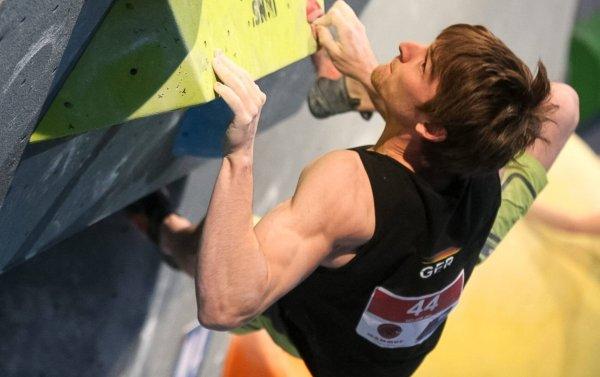 2ec50d4b035bb8 Der Kletterer Jan Hojer gilt als Hoffnung des Deutschen Alpenvereins für  Olympia.