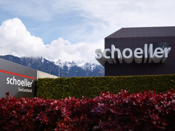 Schoeller's headquarters in Sevelen, Switzerland.
