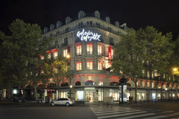 Department store Galeries Lafayette leads the way with B2C Go fo Good project.