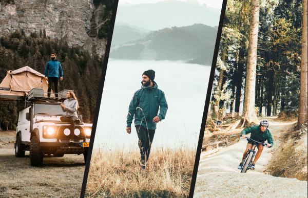 Cortazu: outdoor brand for adventurers with environmental awareness.