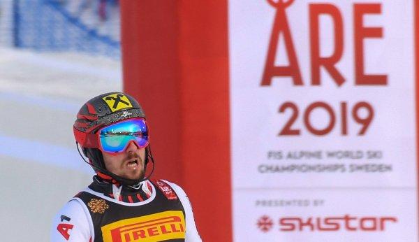 Marcel Hirscher bei der Ski-WM in Are