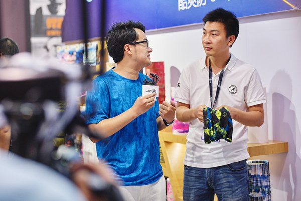 Exhibitors interview at ISPO Shanghai