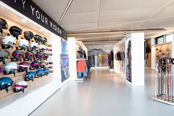 Das Gebäude bietet auch Platz für Ausstellungsfläche.