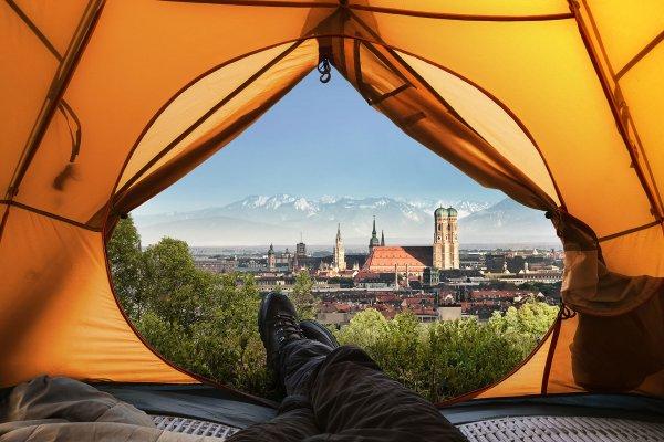Camping in Munich