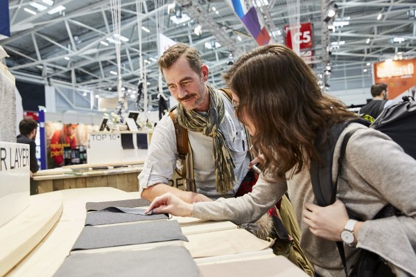 ISPO Textrends is proving to be the spring board of the season for brand developers and product designers.