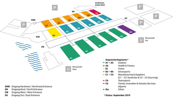 ISPO Munich 2019 Hall Plan: Overview - ISPO com