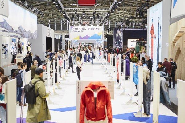 ISPO Exhibition hall
