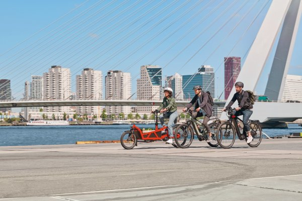 E-bikes are particularly in demand in the city.