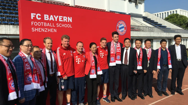 This Is How The Fc Bayern Is Commiting To China