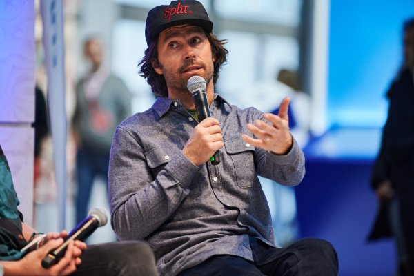 Jeremy Jones auf der ISPO Munich 2020