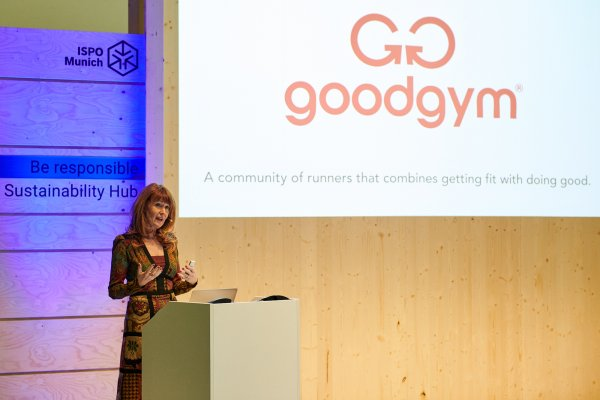 Oona Horx-Strathern spoke about megatrends and sport as a way of life.