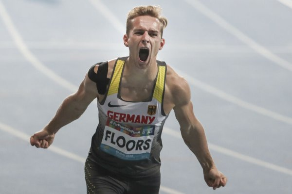 Johannes Floors bei den World Para Athletics Championships in Dubai 2019.