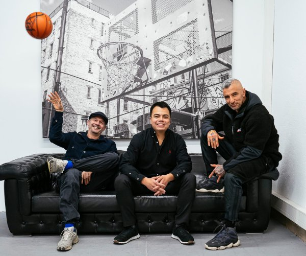 The new management team of Kickz.com (from left to right): Niels Jäger, Philipp Buchholtz and Jacob Fatih