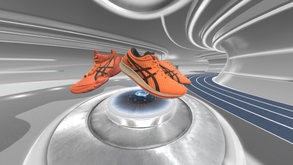 Asics launched its newest shoes with its Virtual Innovation Lab.
