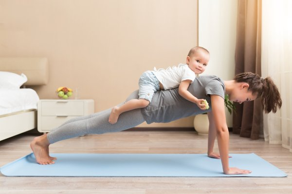 Family fitness as health becomes a priority.