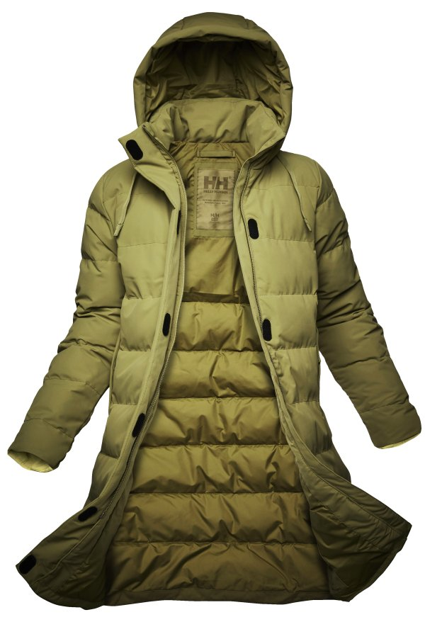 Women's Mono Material Puffy Parka