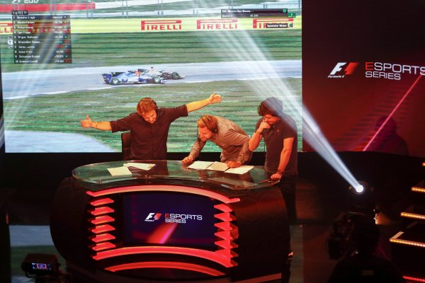 The Formula 1 eSports Series is particularly popular with young Formula 1 fans.