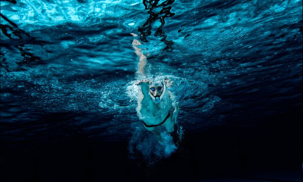 PowerBreather in underwater action.