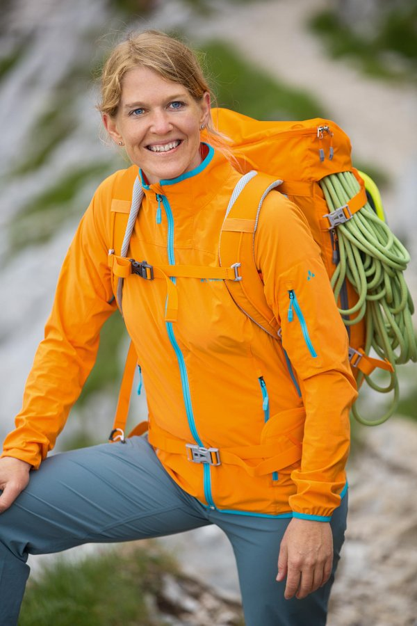 Antje von Dewitz, CEO of the outdoor equipment manufacturer Vaude