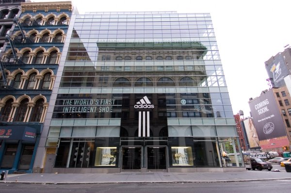 Adidas Shop in New York City