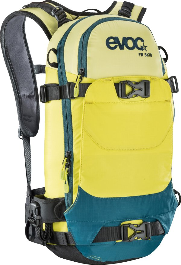 Small, yellow and blue: Evoc's FR SKID